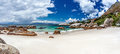 Boulders beach simons town travel to south africa beautiful seaview panoramic landscape summer vacation and tourism concept Royalty Free Stock Photos