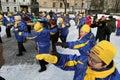 Boulevard di forma fisica di inverno Fotografia Stock Libera da Diritti