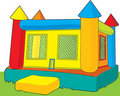 Bounce Castle Royalty Free Stock Photo