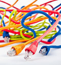 Bounch of cables Stock Images