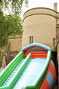 Bouncy castle Royalty Free Stock Photos
