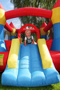 Bouncy castle Royalty Free Stock Photo