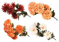 Bouquet of artificial flowers Stock Photography