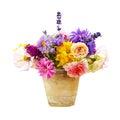Bouquet Of Bright Summer Flowe...