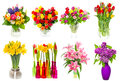 Bouquet Of Colorful Flowers. T...
