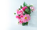 Bouquet of  counterfeit flowers Stock Image