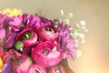 Bouquet Of Flowers. Postcard R...