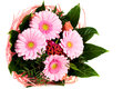 Bouquet with gerbera Stock Image