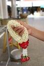 Bouquet of jasmine flowers. Royalty Free Stock Photo