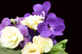 Bouquet With Purple Orchids, F...