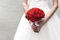 a bouquet of red roses Royalty Free Stock Photo