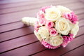 Bouquet rose nuptiale Photo libre de droits