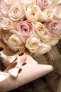 Y zapatos flores boda