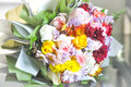 Bouquet Of White ,pink And Yel...