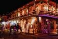 Stock Images Bourbon Street New Orleans - Embers Steak House