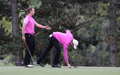 Bourdy and Luiten at the Seve Trophy 2013 Royalty Free Stock Photo