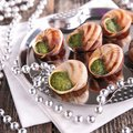 Bourgogne snail french gastronomy closeup on Royalty Free Stock Image