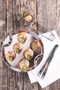Bourgogne snail, french gastronomy Royalty Free Stock Photo