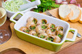 Bourgogne snails with garlic butter Stock Photo