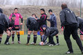 Bourgoin training session in Canet en Roussillon Stock Image