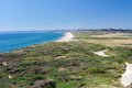 Bournemouth from Hengistbury Head Stock Photos