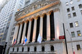 Bourse de New York Images stock