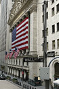 Bourse de New York Images libres de droits