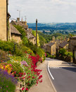 Bourton-sur-le-Côte de village de Cotswolds, R-U Images stock