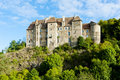 Boussac Castle Royalty Free Stock Photography