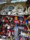 Boutique de cadeaux dans l edinburch Images stock