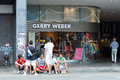 Boutique gerry weber on friedrichstrasse berlin july german manufacturer of women s clothing with annual revenues of Stock Image