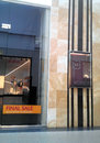 Boutique showcase henderson stylish and smart showcases Stock Photo