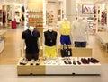 Boutique view of a interior Stock Photos