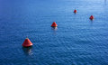Bouys marina of kas turkey at new Royalty Free Stock Photography