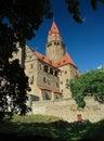 Bouzov Castle, Czech republic Stock Photography