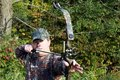 Bow hunter Royalty Free Stock Photography