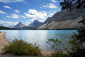 Bow Lake Royalty Free Stock Photo