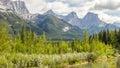 Bow River - Banff National Park - Alberta - Canada Royalty Free Stock Photo