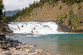 Bow River Falls Royalty Free Stock Photo