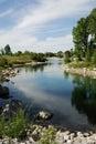 Bow river park Royalty Free Stock Photo