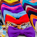 Bow tie - fashion gourmet. Attribute hipsters Royalty Free Stock Photo