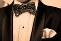 Bow tie Royalty Free Stock Photo