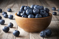 Bowl Blueberries Fruit Royalty Free Stock Photo
