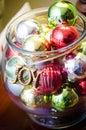 Bowl With Christmas Tree Decor...