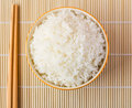 Bowl of Cooked Rice Royalty Free Stock Photo