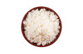 A Bowl of Cooked Rice II Royalty Free Stock Photo