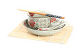 bowl, dish , chopsticks Royalty Free Stock Photo