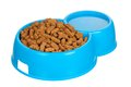 Bowl of dog food Stock Photos