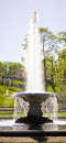 The bowl fountain in peterhof st petersburg russia may petergof palace is a series of palaces and gardens sometimes referred as Stock Image