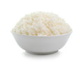 Bowl full of rice Royalty Free Stock Photo